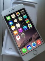 >iPhone*6! -*128GB!>UNLOCKED *WHITE/SILVER* BNEW IN BOX! *WRNTY!