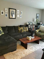 Newly renovated 1 BR apartment in Trendy Sunalta. Avail July 1st