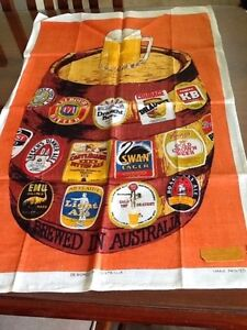 Vintage tea towels - suit wall hanging or framing Port Macquarie Port Macquarie City Preview
