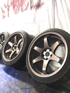 PLASTI DIP RIMS SPECIAL ☆160$ / ALL 4☆ @Spool Customs