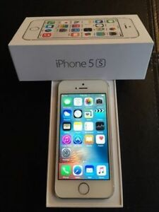 WHITE Apple iPhone 5S 16 GB - BELL/VIRGIN