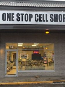 ONE STOP CELL SHOP-BROOKDALE PLAZA-behind PIZZA PIZZA