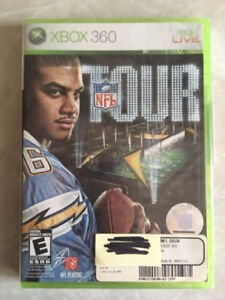 XBOX 360 NFL Tour Game - Brand New!!!