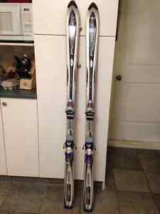 Skis, bindings and boots package