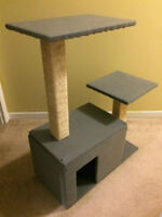Arbre a chat gris NEUF / NEW grey Cat tree - Park