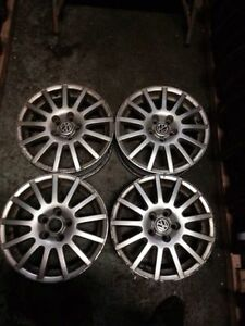 4 original Alloy14 inch Vw rims in good condition 5 bolt 5x100
