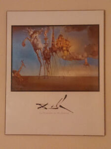 SALVADOR DALI - WOOD MOUNTED PRINT