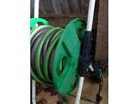 GARDEN HOSE WITH REEL 20m