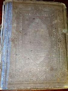 ANTIQUE PULPIT BIBLE Matthew Henry 1800s RARE BOOK Reformation
