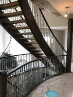 Railings and Handrails Painting and Refinishing