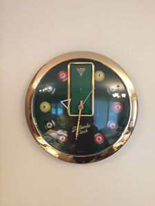 Horloge Billards/ Billiards clock