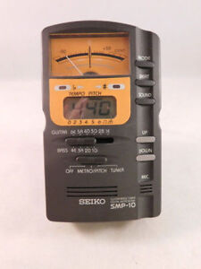 Seiko SMP-10 Guitar Bass Tuner Metronome or best offer