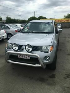 2008 Mitsubishi Triton ML MY08 GLX-R (4x4) Silver 4 Speed Automatic 4x4 Dual Cab Utility Coopers Plains Brisbane South West Preview