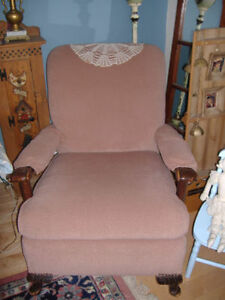 Antique solid oak rocking chair plus other chairs Kitchener / Waterloo Kitchener Area image 9