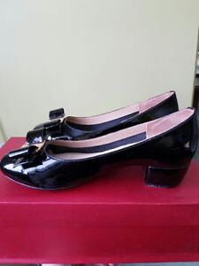 Salvatore Ferragamo Vara Patent Leather Pumps