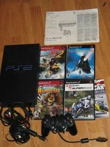 PLAYSTATION ---2 SYSTEM  -WITH 1 --CONTROLLER & HOOKUP