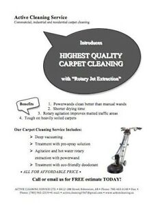Highest Quality Carpet Cleaning & Restoration Edmonton Edmonton Area image 2