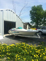Sea Doo Challenger Jet Boat with Trailer
