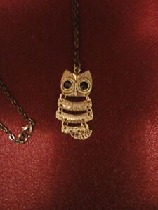 Long Owl Pendant
