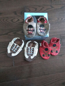 3 Robeez Leather shoes
