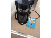 Delonghi Coffee Machine and Filters