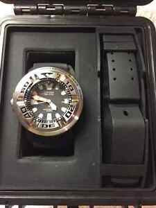 Citizen 46mm EchoZilla mint condition with many extras London Ontario image 8