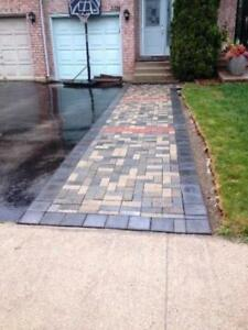 Interlock paving & Driveway by Amigos in Aurora , ON