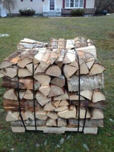 Dry Hardwood Firewood $99 delivered www.NovaScotiaWood.ca