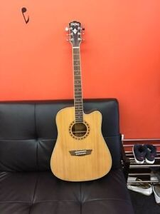 Washburn WD10CE Electroacoustic Guitar!