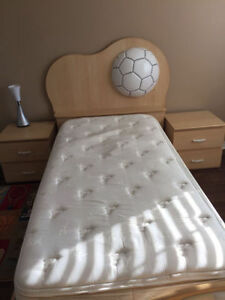 SOCCER Bedroom Set LIKE NEW
