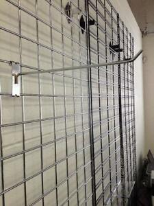 grid wall, slat grids, hanging wall, wire wall