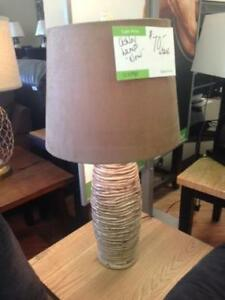 ASHLEY LAMPS REDUCED TO CLEAR STARTING AT $50+ TAX  WE DO NOT EN