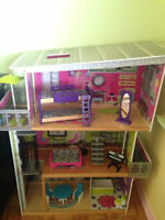Maison de Barbie Kidkraft - my modern mansion dollhouse