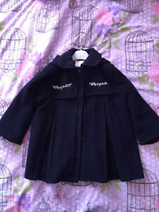 Girls Winter Coat - Bufi Size 2-3T - Made in Italy