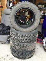 WINTER TIRES 195/60R15 ONLY USED HALF A WINTER ALMOST NEW!!!
