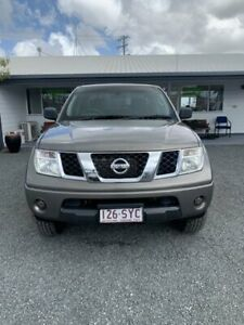 2012 Nissan Navara D40 S6 MY12 RX Slate Grey 5 Speed Automatic Utility Mount Pleasant Mackay City Preview