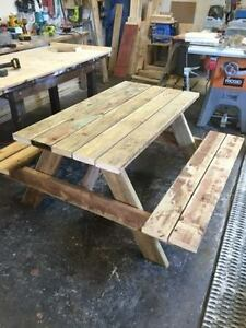 Picnic Tables For Sale Kijiji Free Classifieds In