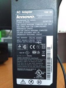 Power adapter for Lenovo laptops