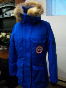 Blue Canada Goose Expedition Women's Jacket