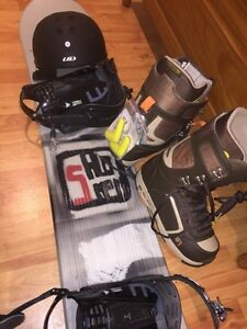 BRAND NEW Salomon AMP 164 Snow Board Package never used!!