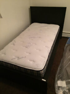 Single Bed frame with matress
