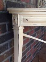 LOVELY HAND-PAINTED CONSOLE TABLE
