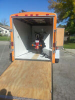 Trailer and Driver for Hire / 905-714-6434