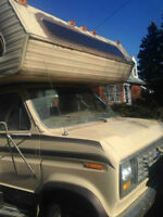 87' Ford motorhome, unfinished TRADE