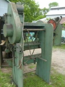 15 ton  x 4' Allsteel Mechanical Press Brake