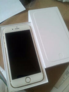 Gold iphone 6s 16 BRAND NEW WITH FACTORY STICKERS