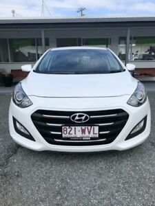2016 Hyundai i30 GD4 Series II MY17 Active Polar White 6 Speed Sports Automatic Hatchback Mount Pleasant Mackay City Preview
