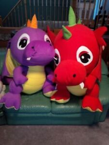 Brand new stuffed toy dragons from the CNE!