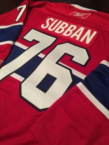 P.K. Subban Montreal Canadiens Jersey Size M L and XL Markham / York Region Toronto (GTA) image 2