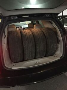 4 255/60 r17 tires, great price!
